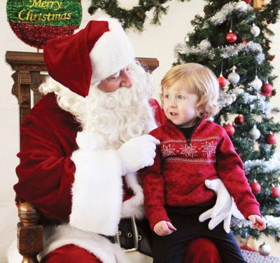 Santa visits Ashville
