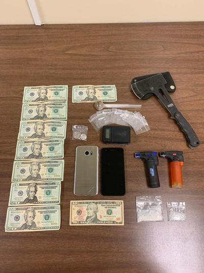 Seized drugs