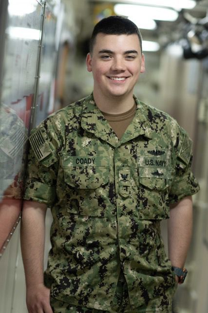 Petty Officer 3rd Class Sean Coady
