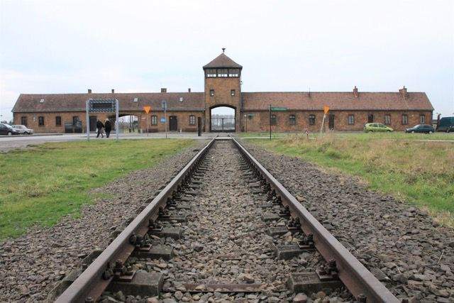The Gate of Death: Auschwitz