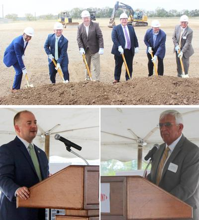 DuPont breaks ground