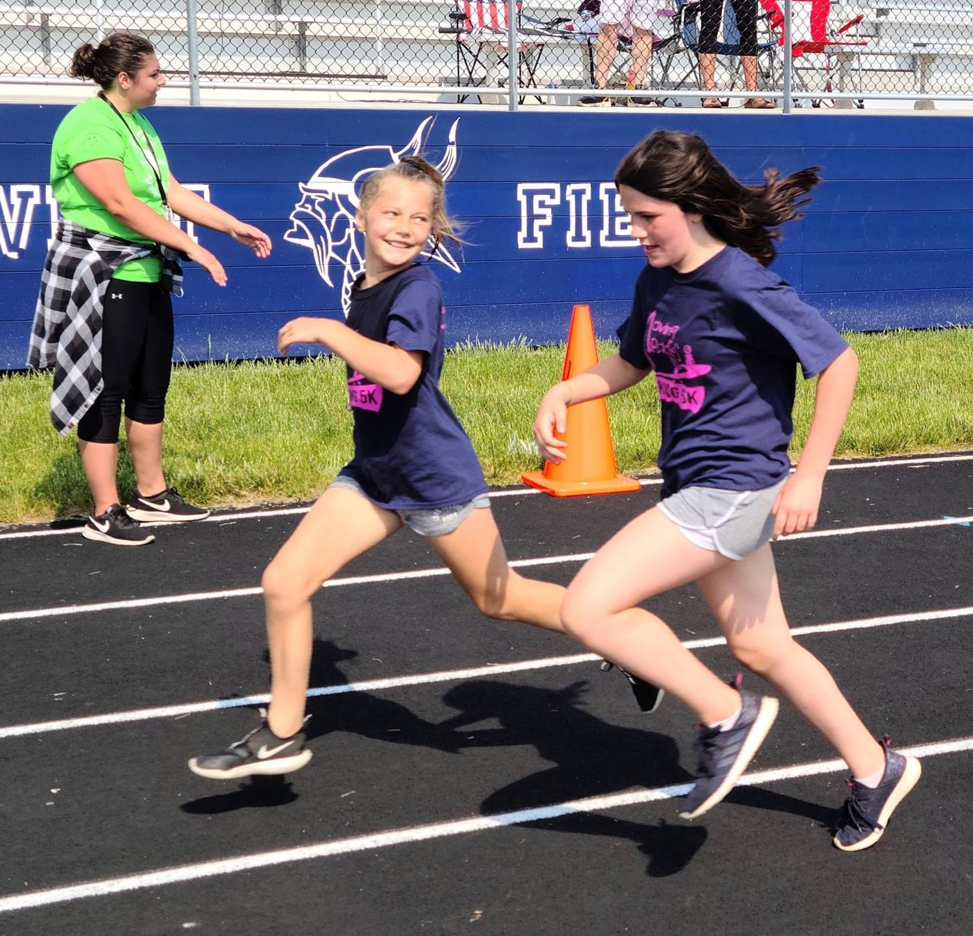 Sprinting to the finish