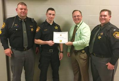 Officer receives commendation