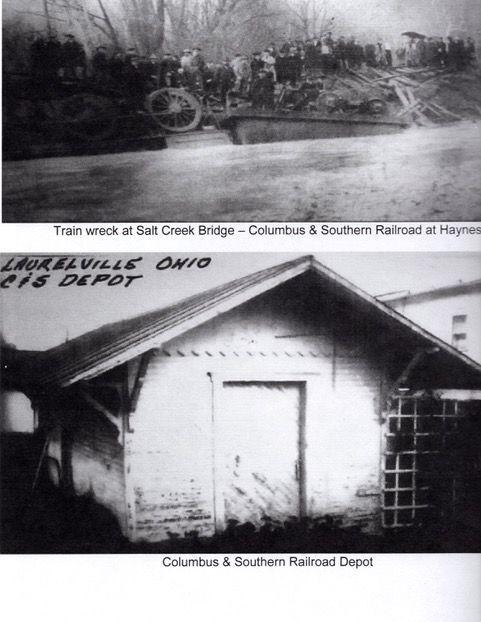 Old Rosie's railroad line