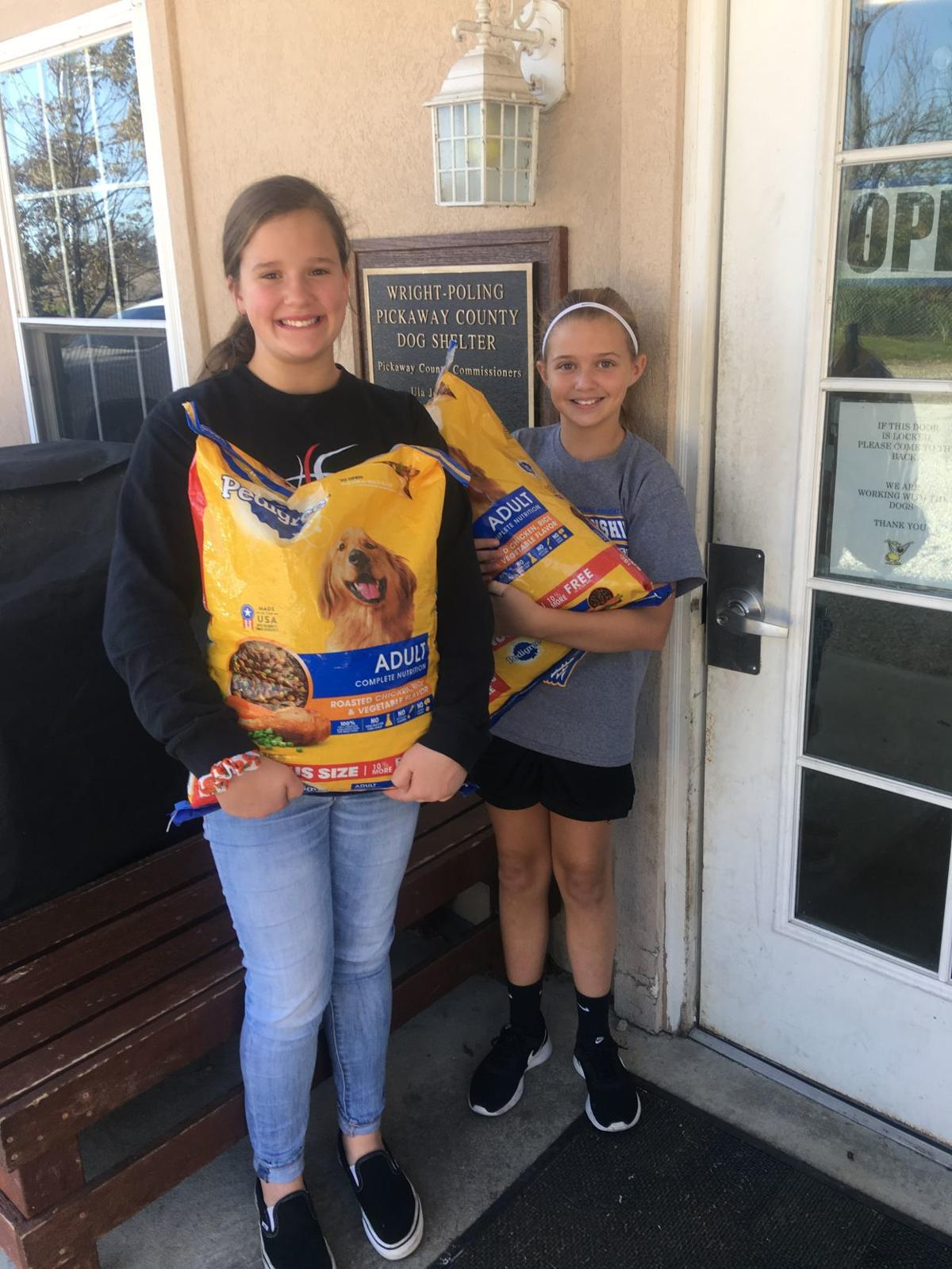 Kindness Project Dog food donation