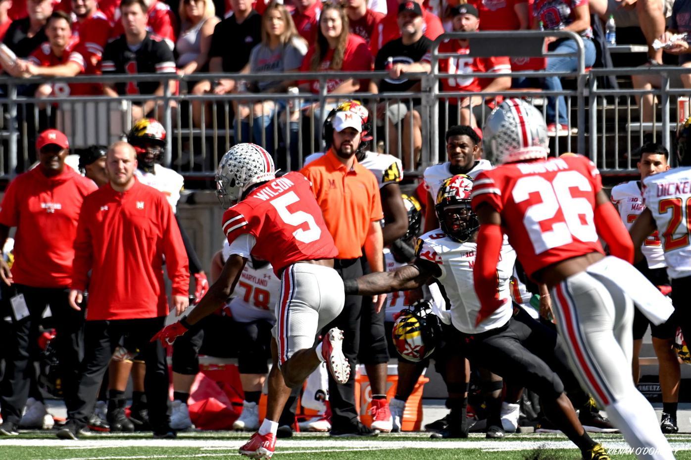 Football: Ohio State vs Maryland 10/9/21