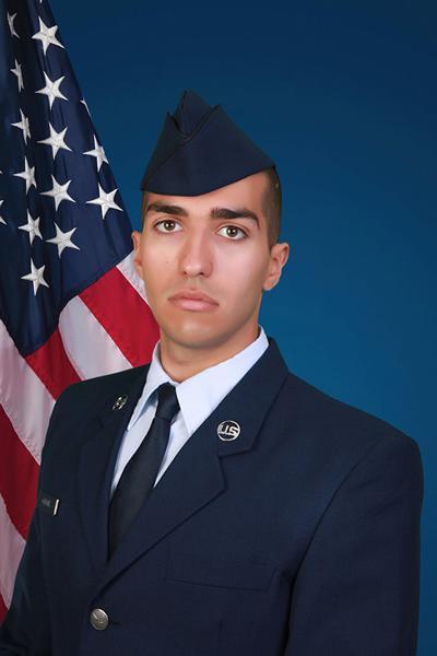 U.S. Air Force Airman Anthonee Garcia