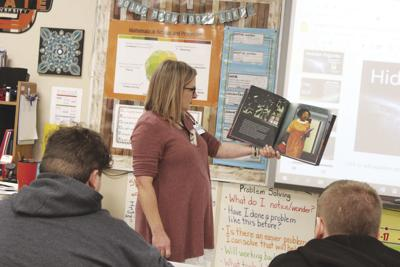 Claremore teacher uses Hidden Figures as a  lesson in math, black history and perseverance