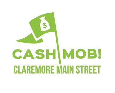 Cash Mob returns to downtown Claremore
