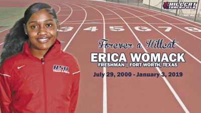 RSU mourns the loss of freshman track student-athlete Erica Womack