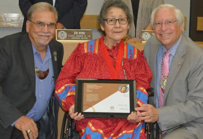 Cherokee Nation honors Loretta Shade as Cherokee National Treasure