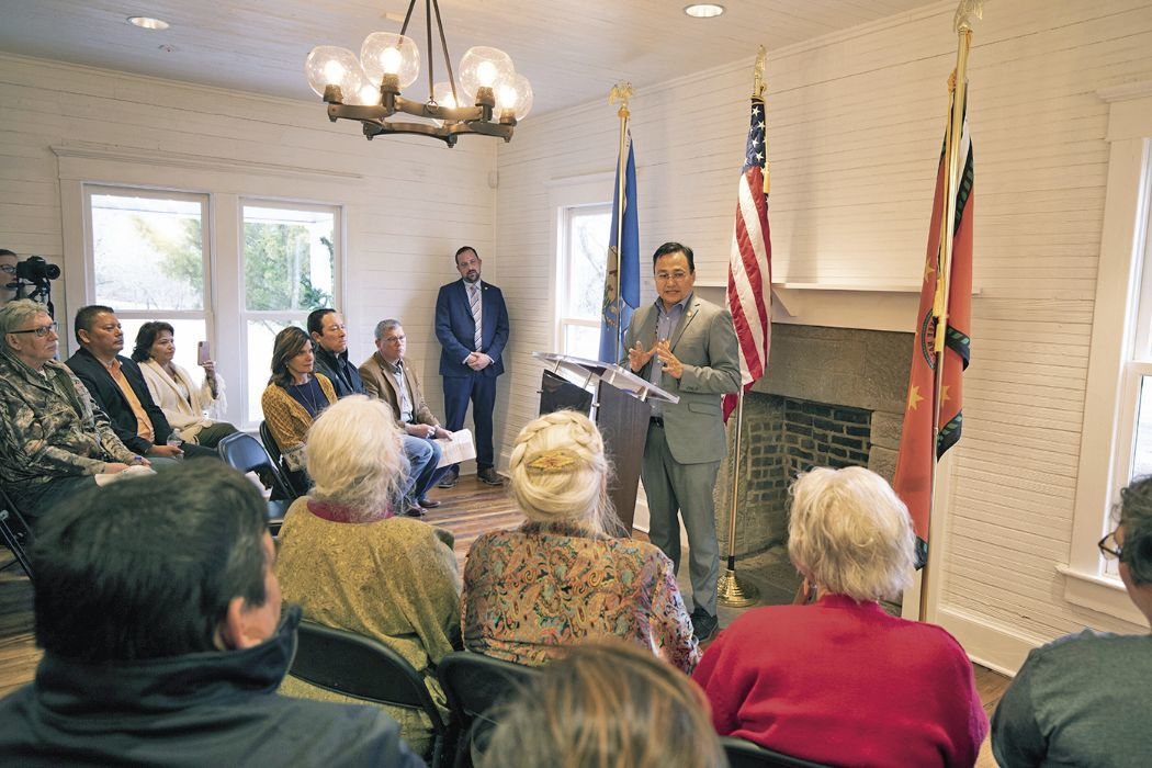 Chief Hoskin proposes Cherokee Nation Historic Registry Act