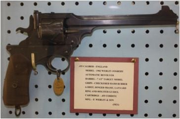 Webley-Fosbery Automatic Revolver: The stuff that dreams are made of
