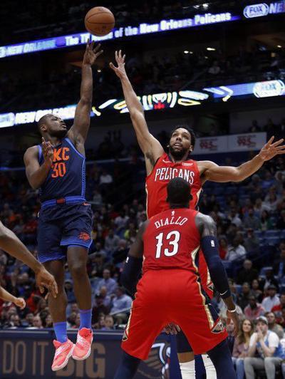 OKC Thunder evaluation: Deonte Burton has risen quickly just to reach the NBA's ground floor