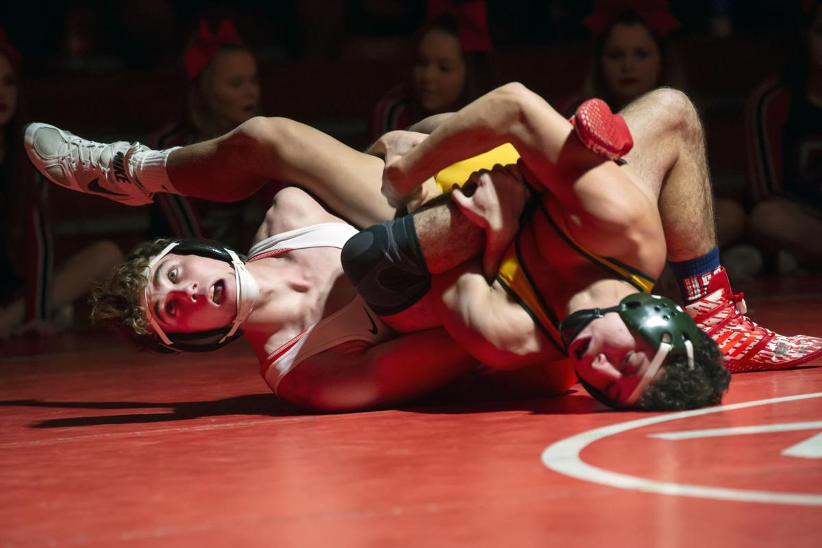 Claremore vs. Catoosa Wrestling