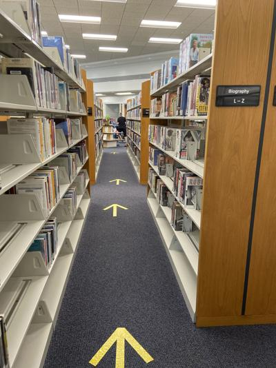 Library implements  new safety measures