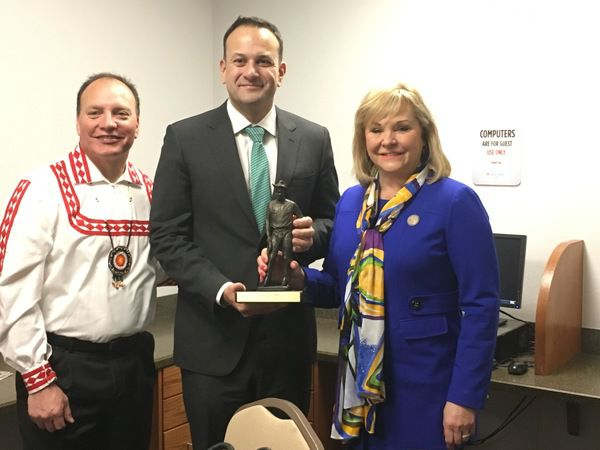Governor Mary Fallin Helps Welcome Irish Prime Minister to Oklahoma