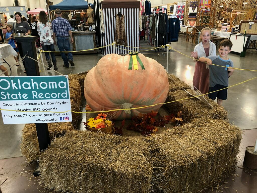 The Great Pumpkin is coming to Rogers County