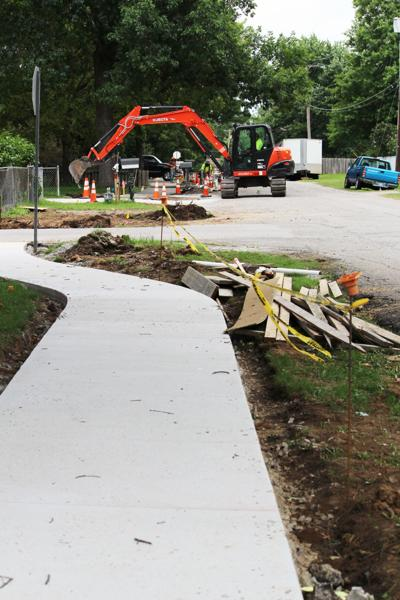 City sidewalk project continues
