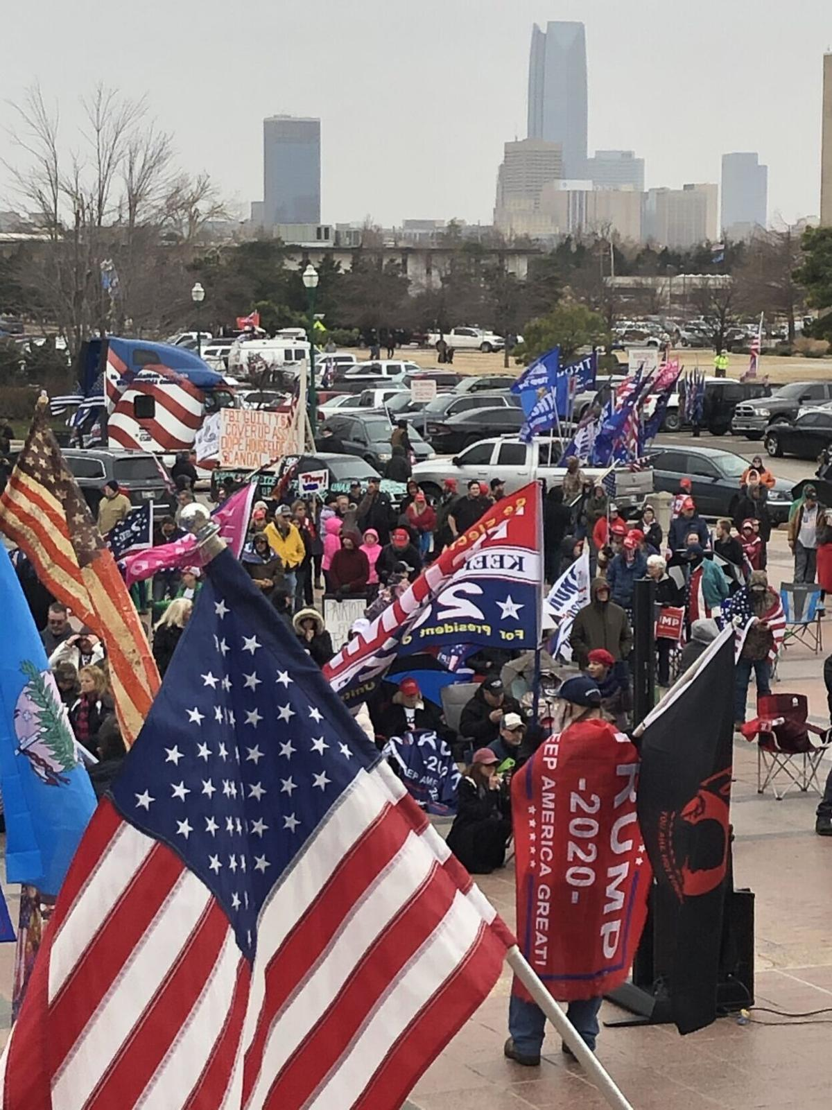 Oklahoma Capitol vote protest
