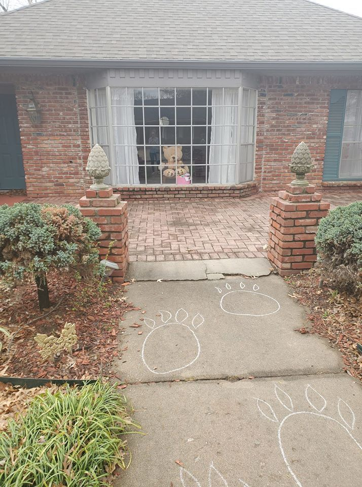Gallery Viral Bear Hunt Trend Based On A Children S Book Comes To Claremore Verdigris Community Claremoreprogress Com