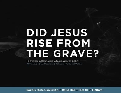 DEBATE: Did Jesus rise from the grave?