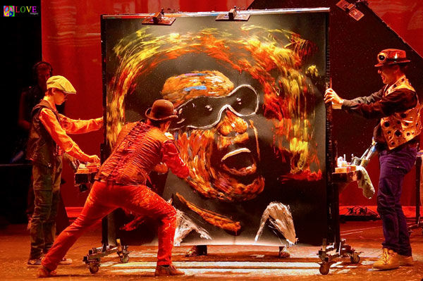 Robson Performing Arts Center presents live action art with touring production Artrageous