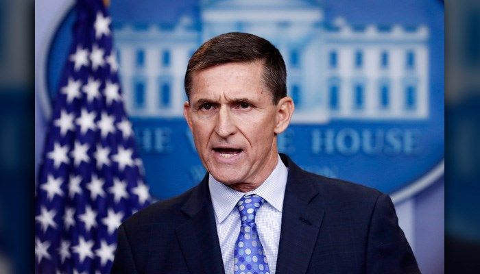 Former national security adviser Flynn charged with lying to FBI