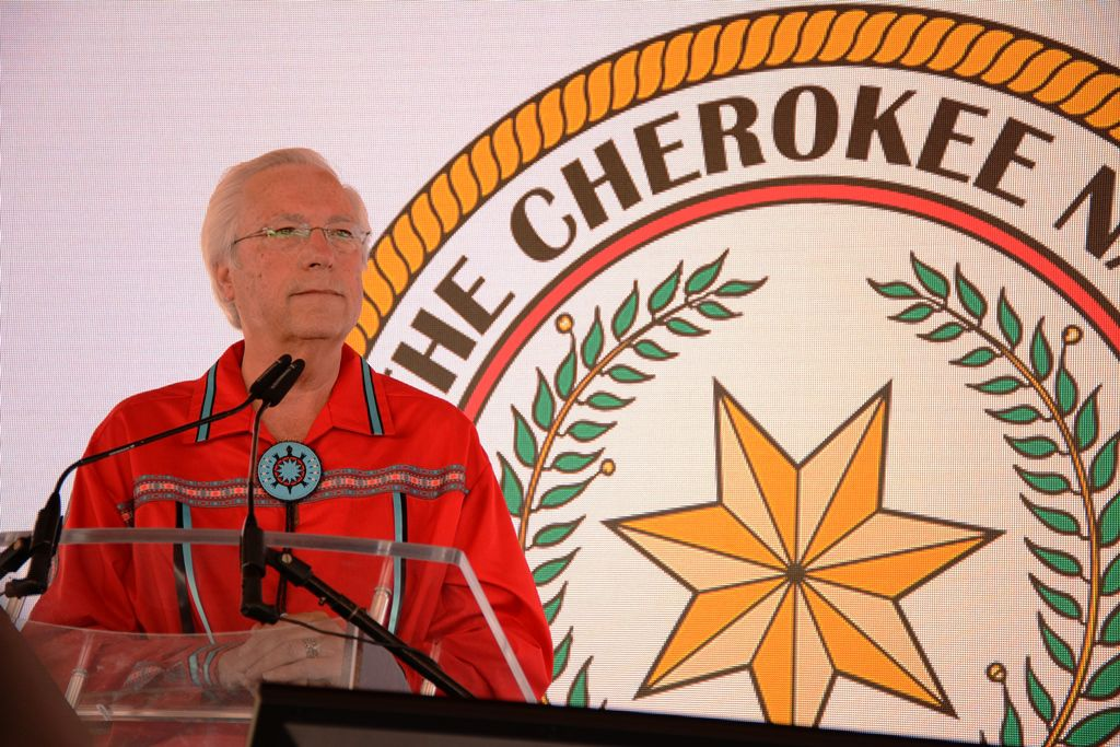 Principal Chief Bill John Baker highlights seven-year progress during State of the Nation address