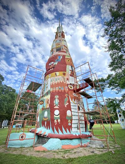 Restoration Complete:  Celebration planned for Totem Pole Park
