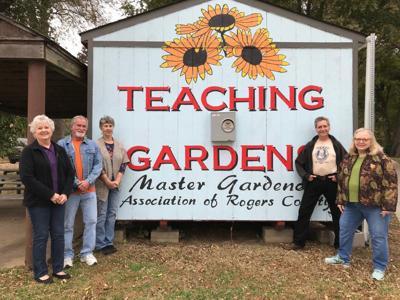 New signage for Master Gardeners' Teaching Gardens