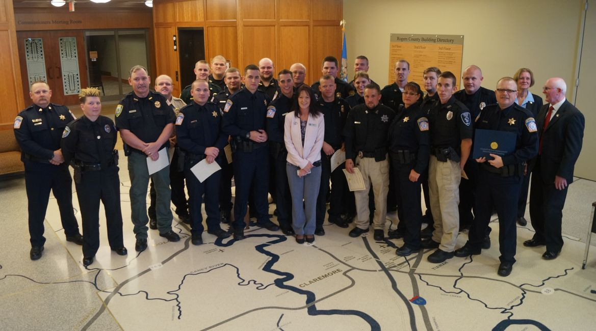 Second CLEET class graduates in Rogers County | News ...
