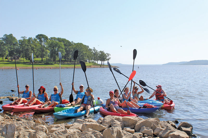 Weekly Retreat: Kayak Krew  Area educators hit the water for mental health