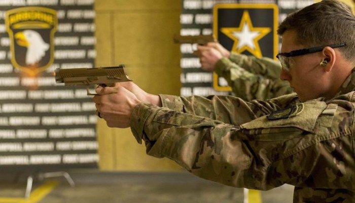 Army begins distributing new standard pistols