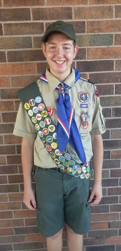 Verdigris scout earns Eagle Scout rank
