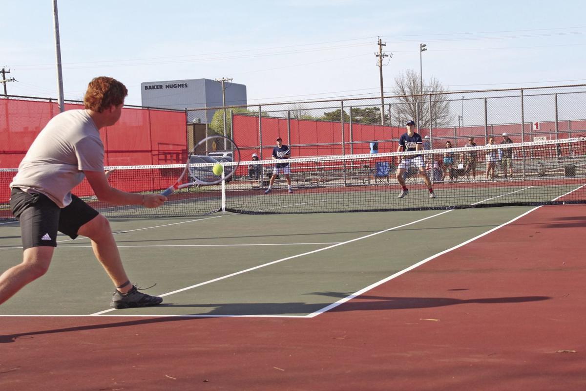 Cascia Hall sweeps Zebra tennis