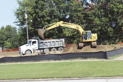What's happening across from Claremore First Baptist?