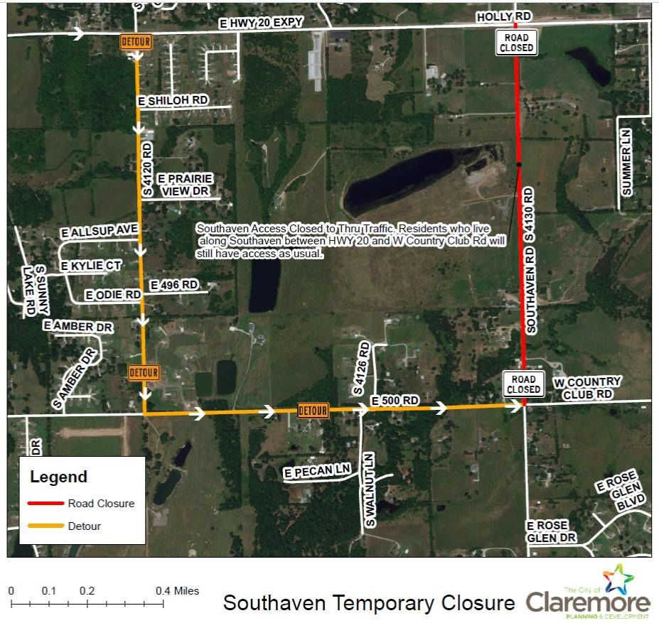 City issues road closure reminder   News   claremoreprogress com