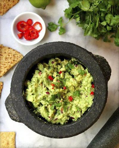 Got guac? Tap into your inner caveman with this recipe