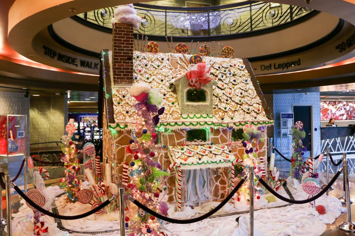 Life Size Gingerbread House Unveiled In Catoosa News