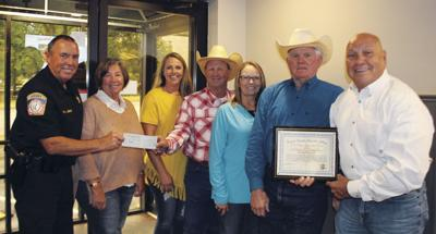 Green Country Ranch Rodeo donates $9,000 to RCSO mounted patrol