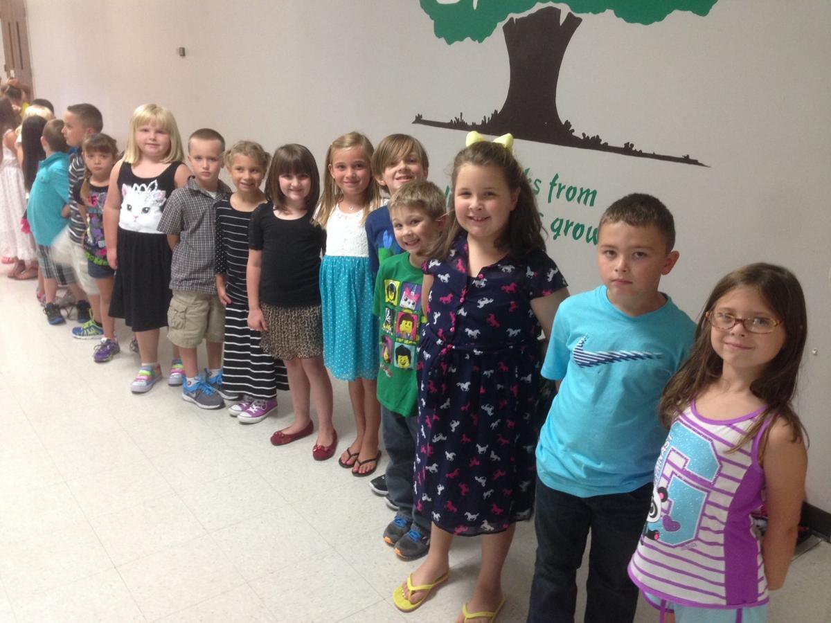 Roosa Elementary 1st grade 2014