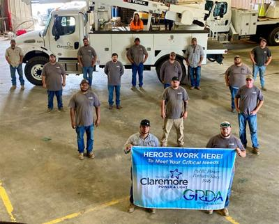 GRDA, City of Claremore Power & Light recognizing hometown heroes