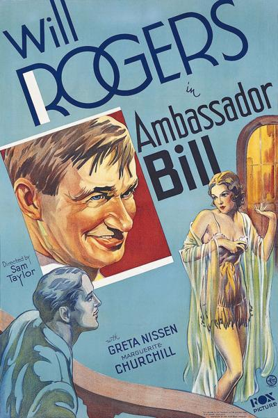 """Ambassador Bill"" playing at Movie Night at the Museum"