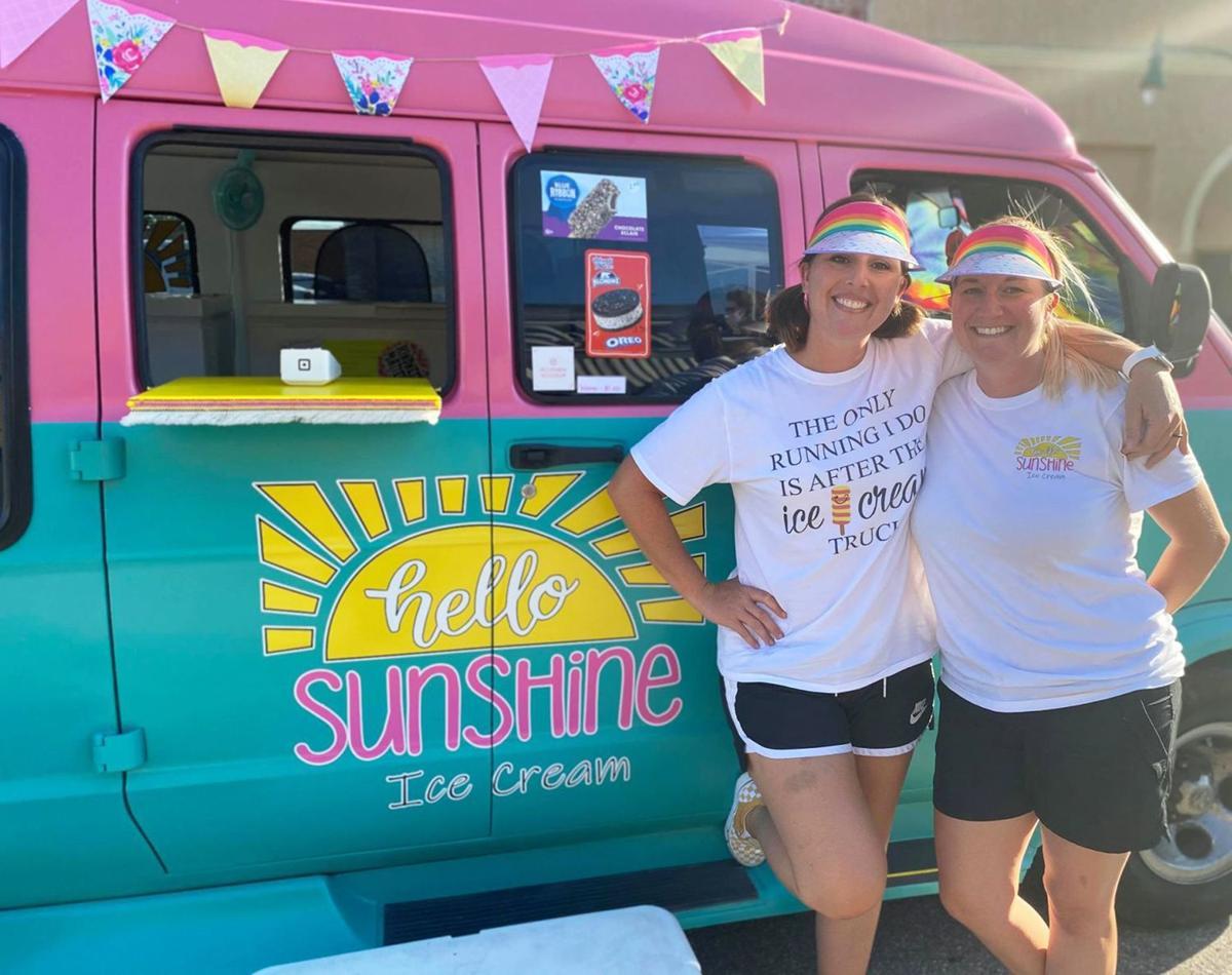Hello Sunshine delivering joy, laughter,  ice cream