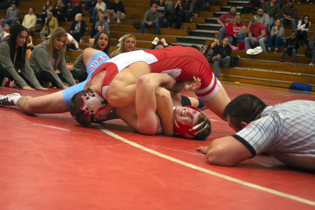20190124 Claremore vs. Collinsville Wrestling