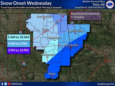 NWS: Snow in the forecast
