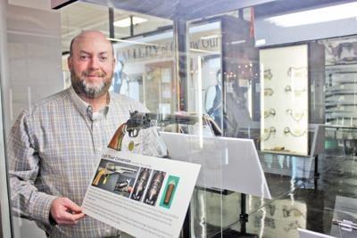 New firearm history exhibit at J.M. Davis