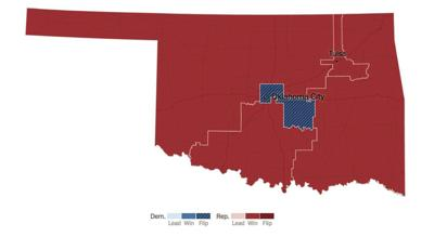 Map of Oklahoma
