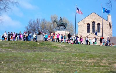Easter Egg Hunt on Will Rogers Memorial Grounds